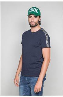 T-Shirt T-SHIRT COLBERT Homme W19187 (46049) - DEELUXE