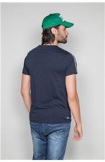 T-Shirt T-SHIRT COLBERT Homme W19187 (46050) - DEELUXE