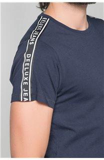 T-Shirt T-SHIRT COLBERT Homme W19187 (46051) - DEELUXE