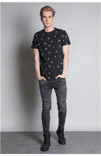 T-Shirt T-SHIRT NOTSORRY Homme W19108 (46077) - DEELUXE