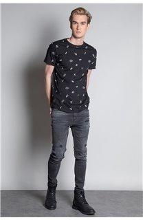 T-Shirt T-SHIRT NOTSORRY Homme W19108 (46078) - DEELUXE