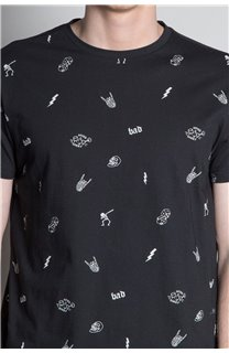 T-Shirt T-SHIRT NOTSORRY Homme W19108 (46081) - DEELUXE