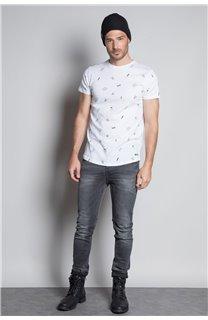 T-Shirt T-SHIRT NOTSORRY Homme W19108 (46082) - DEELUXE
