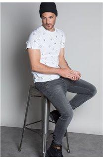T-Shirt T-SHIRT NOTSORRY Homme W19108 (46083) - DEELUXE