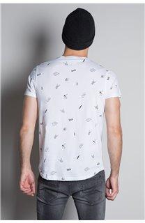 T-Shirt T-SHIRT NOTSORRY Homme W19108 (46085) - DEELUXE