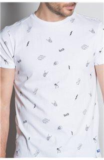 T-Shirt T-SHIRT NOTSORRY Homme W19108 (46086) - DEELUXE