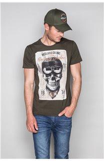 T-Shirt CLEM Homme P196 (46161) - DEELUXE