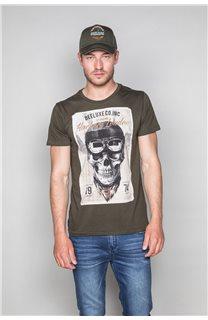 T-Shirt CLEM Homme P196 (46163) - DEELUXE