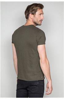 T-Shirt T-SHIRT CRYSTAL Homme P184 (46178) - DEELUXE