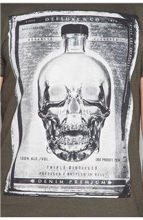 T-Shirt T-SHIRT CRYSTAL Homme P184 (46179) - DEELUXE