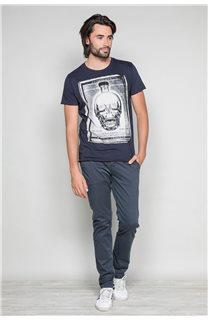 T-Shirt T-SHIRT CRYSTAL Homme P184 (46182) - DEELUXE