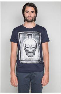 T-Shirt T-SHIRT CRYSTAL Homme P184 (46183) - DEELUXE