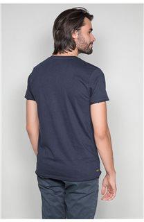 T-Shirt T-SHIRT CRYSTAL Homme P184 (46184) - DEELUXE