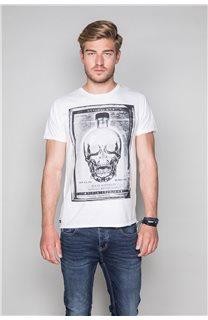 T-Shirt T-SHIRT CRYSTAL Homme P184 (46188) - DEELUXE
