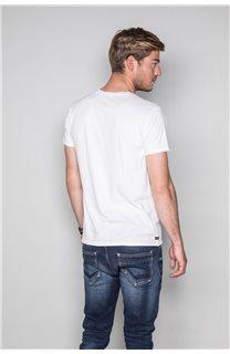 T-Shirt T-SHIRT CRYSTAL Homme P184 (46189) - DEELUXE