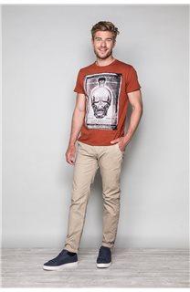 T-Shirt T-SHIRT CRYSTAL Homme P184 (46191) - DEELUXE