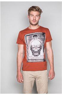 T-Shirt T-SHIRT CRYSTAL Homme P184 (46192) - DEELUXE