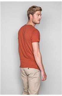 T-Shirt T-SHIRT CRYSTAL Homme P184 (46193) - DEELUXE