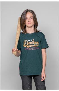 T-Shirt T-Shirt BACK Garçon W191109B (46246) - DEELUXE