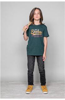 T-Shirt T-Shirt BACK Garçon W191109B (46247) - DEELUXE