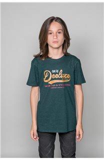 T-Shirt T-Shirt BACK Garçon W191109B (46248) - DEELUXE
