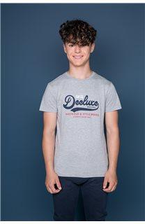T-Shirt T-Shirt BACK Garçon W191109B (46253) - DEELUXE