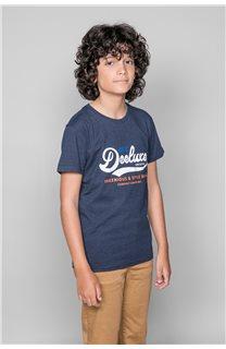 T-Shirt T-Shirt BACK Garçon W191109B (46256) - DEELUXE