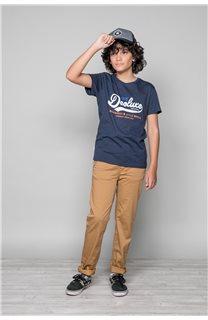 T-Shirt T-Shirt BACK Garçon W191109B (46257) - DEELUXE