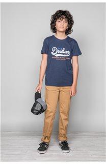 T-Shirt T-Shirt BACK Garçon W191109B (46258) - DEELUXE