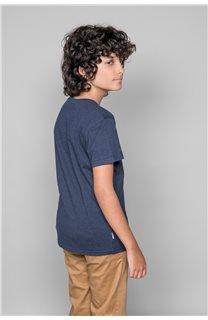 T-Shirt T-Shirt BACK Garçon W191109B (46259) - DEELUXE