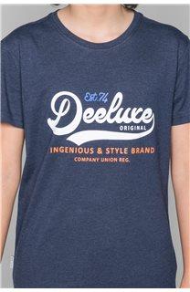 T-Shirt T-Shirt BACK Garçon W191109B (46260) - DEELUXE