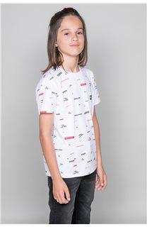 T-Shirt T-Shirt GRANO Garçon W19112B (46266) - DEELUXE