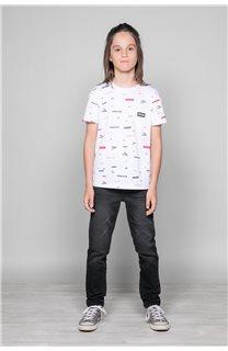 T-Shirt T-Shirt GRANO Garçon W19112B (46267) - DEELUXE