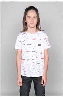 T-Shirt T-Shirt GRANO Garçon W19112B (46268) - DEELUXE