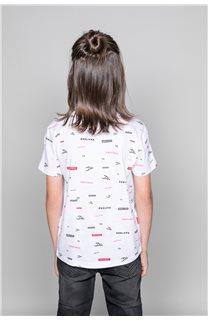 T-Shirt T-Shirt GRANO Garçon W19112B (46269) - DEELUXE