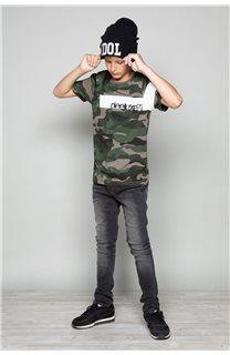 T-Shirt GABLES Garçon W19119B (46272) - DEELUXE