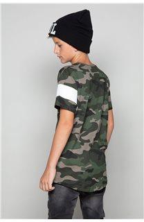 T-Shirt GABLES Garçon W19119B (46274) - DEELUXE