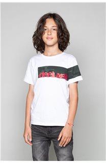 T-Shirt GABLES Garçon W19119B (46276) - DEELUXE