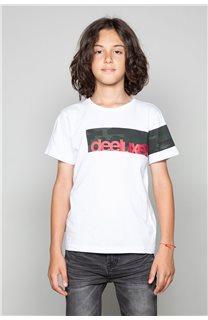 T-Shirt GABLES Garçon W19119B (46278) - DEELUXE