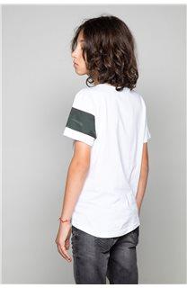 T-Shirt GABLES Garçon W19119B (46279) - DEELUXE