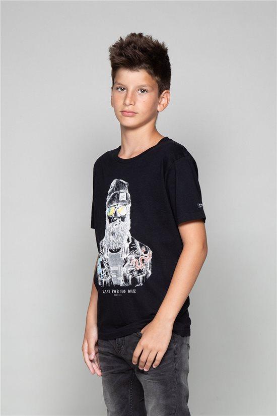 T-Shirt TELLIER Garçon W19156B (46281) - DEELUXE