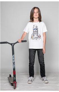 T-Shirt TELLIER Garçon W19156B (46287) - DEELUXE