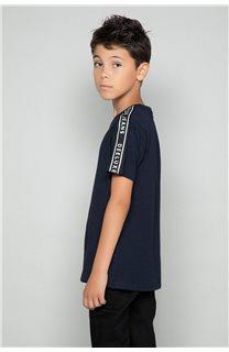 T-Shirt T-Shirt COLBERT Garçon W19187B (46309) - DEELUXE
