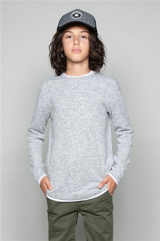 T-Shirt T-SHIRT MOHANSON Garçon W19173B (46330) - DEELUXE