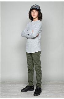 T-Shirt T-SHIRT MOHANSON Garçon W19173B (46331) - DEELUXE