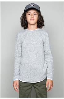 T-Shirt T-SHIRT MOHANSON Garçon W19173B (46332) - DEELUXE