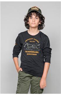 T-Shirt FUJI Garçon W191105B (46356) - DEELUXE
