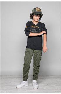 T-Shirt FUJI Garçon W191105B (46357) - DEELUXE