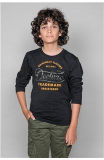 T-Shirt FUJI Garçon W191105B (46358) - DEELUXE