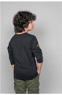 T-Shirt FUJI Garçon W191105B (46359) - DEELUXE